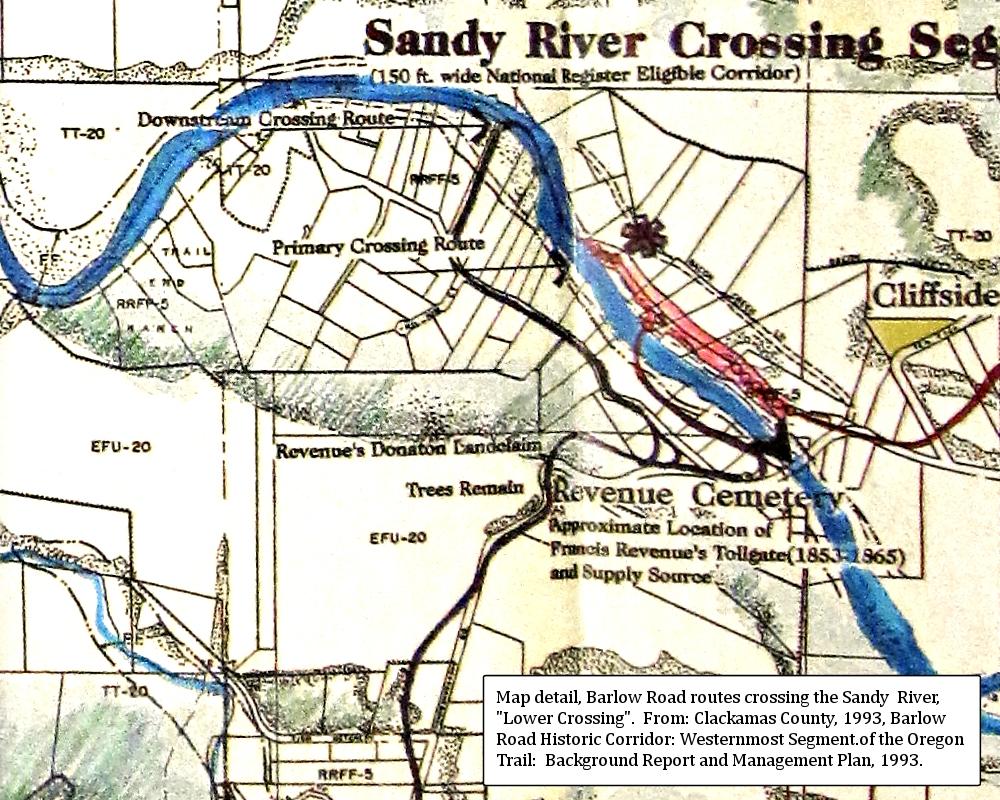 Thebarlowroad Com Crossing The Sandy River