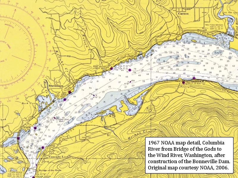 The Columbia River Stevenson Washington
