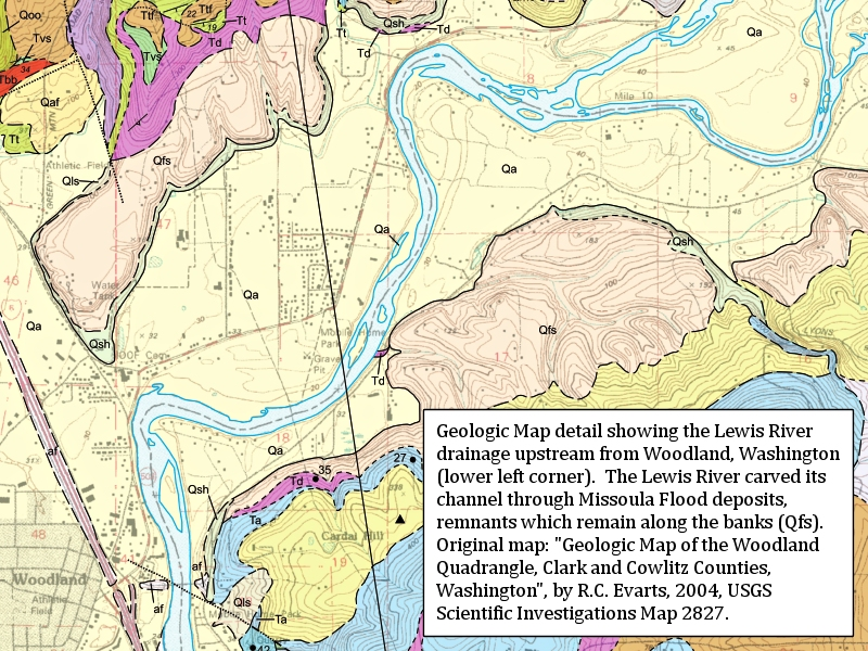 The Columbia River Woodland Washington