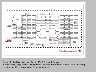 Map, Portland Expo Center, Portland, Oregon, click to enlarge