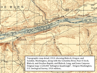 Historic Map, 1913, Blalock and Sundale, click to enlarge