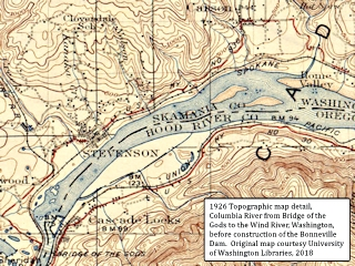 Map detail, 1926, topo map detail, Washington, click to enlarge
