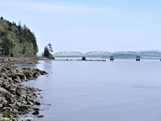 Image, 2004, Astoria-Megler Bridge, from near Station Camp, click to enlarge
