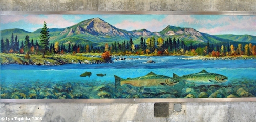 Image, 2005, Mural, Bonneville Dam, click to enlarge