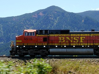 Image, 2005, Engine, Burlington Northern Santa Fe, click to enlarge