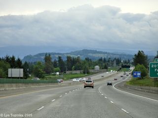 Image, 2005, Chamberlain Hill from Interstate 84, click to enlarge