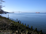 Image, 2005, Columbia River from Astoria, Oregon