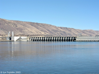 Image, 2003, John Day Dam, click to enlarge