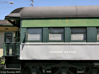 Image, 2005, Northern Pacific passenger car, click to enlarge