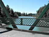 Image, 2004, Sandy River Bridge, Oregon, looking downstream