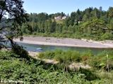 Image, 2005, Sandy River, Oregon, looking downstream
