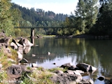 Image, 2003, Sandy River, Oregon