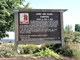Image, 2003, Lewis and Clark Camp Sign, Washougal, Washington