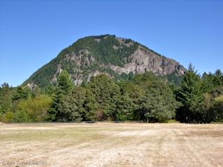 Image, 2005, Wind Mountain from Home Valley, click to enlarge