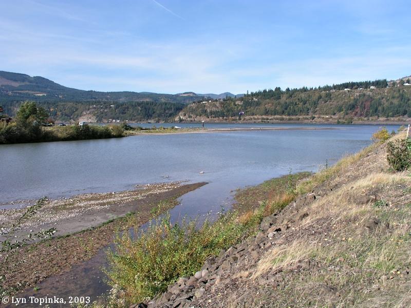 The Columbia River Hood River Oregon