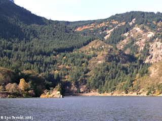 Image, 2003, Mouth of the Little White Salmon River and Drano Lake, Washington, click to enlarge
