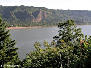 Image, 2003, Rooster Rock State Park and Crown Point, click to enlarge