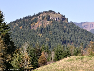 Image, 2004, Aldrich Butte from North Bonneville, Washington click to enlarge
