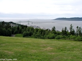 Image, 2004, Astoria-Megler Bridge and mouth of the Columbia River