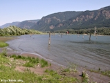 Image, 2004, Columbia River looking upstream from Skamania Landing