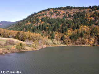 Image, 2004, Grant Lake and Dog Mountain, Washington, click to enlarge