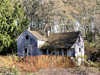 Image, 2004, Old house, on the road to Aldrich Point, click to enlarge