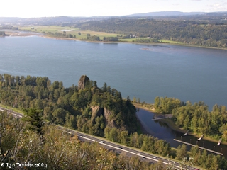 Image, 2004, Rooster Rock, Oregon, Steigerwald Lake NWR, and  Point Vancouver, Washington, click to enlarge