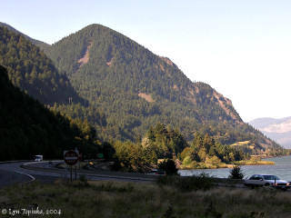Image, 2004, Shellrock Mountain, Oregon, from Starvation Creek, Oregon, click to enlarge