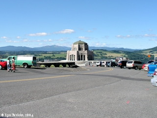 Image, 2004, Vista House and Crown Point, click to enlarge