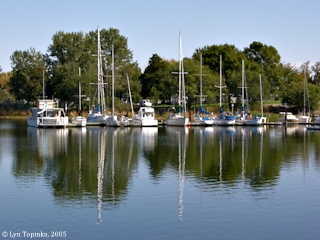 Image, 2005, Boardman, Oregon, Marina, click to enlarge