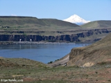 Image, 2005, Celilo area, with Mount Hood, Oregon
