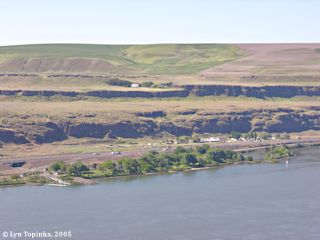 Image, 2005, Celilo Park and Celilo, Oregon, click to enlarge