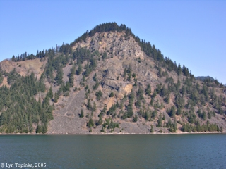 Image, 2005, Chemawa Hill and Drano Lake, click to enlarge