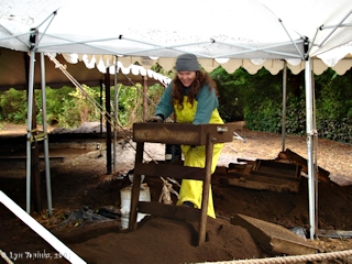 Image, 2005, Fort Clatsop Archaeology Dig, click to enlarge