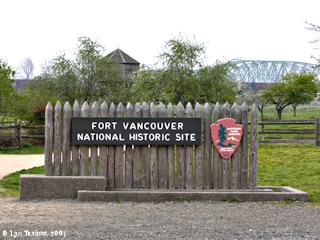 Image, 2005, Fort Vancouver National Historic Site, Washington, click to enlarge