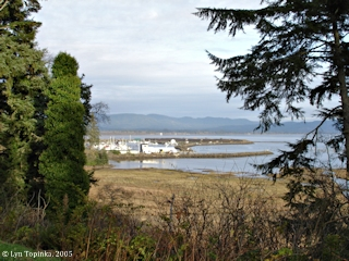 Image, 2005, Ilwaco, Washington, from Cape Disappointment, click to enlarge
