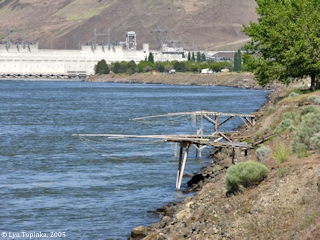 Image, 2005, John Day Dam, click to enlarge