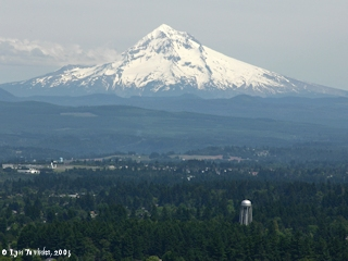 Image, 2005, Mount Hood from Rocky Butte, click to enlarge