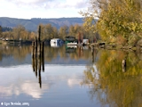Image, 2005, Multnomah Channel from Sauvie Island Boat Ramp