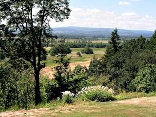 Image, 2005, Ridgefield Refuge from Ridgefield ridge, Washington, click to enlarge