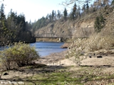 Image, 2005, Sandy River from Dabney State Recreation Area, Oregon