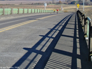 Image, 2005, Sauvie Island Bridge, click to enlarge