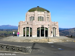 Image, 2005, Vista House and Crown Point, click to enlarge