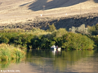 Image, 2005, Fishing, Walla Walla River, click to enlarge
