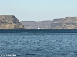 Image, 2005, Wallula Gap from Sand Station, Oregon, click to enlarge