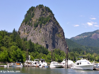Image, 2006, Beacon Rock, Washington, click to enlarge