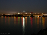Image, 2006, Pasco-Kennewick Bridge, night shot, from Columbia Park