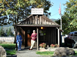 Image, 2006, Bridal Veil Post Office, Oregon, click to enlarge
