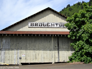 Image, 2006, Broughton Lumber Mill, Hood, Washington, click to enlarge