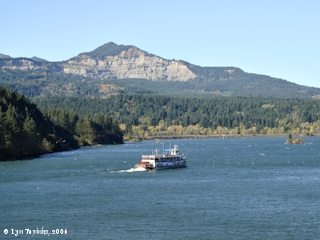 Image, 2006, Greenleaf Peak, Washington, from Cascade Locks, Oregon, click to enlarge